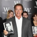 Arnold Schwarzenegger meets fans as he signs copies of his book 'Total Recall: My Unbelievably True Life Story' at Waterstone's, Piccadilly in London on October 15, 2012