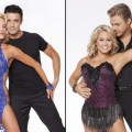 Peta Murgatroyd and Gilles Marini, Shawn Johnson and Derek Hough