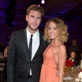Lovebirds Miley Cyrus and Liam Hemsworth celebrated their engagement in May 2012
