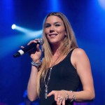 Joss Stone performs on stage at the Vic Theatre in Chicago on October 7, 2012