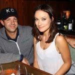 Jason Sudeikis and Olivia Wilde attend Glamour Presents 'These Girls' at Joe's Pub in New York City on October 8, 2012