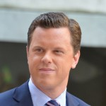 Willie Geist speaks to the crowd at NBC's 'Today' at Rockefeller Plaza on July 6, 2012 in New York City