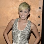 Miley Cyrus is all smiles at the City Of Hope Honors Halston CEO Ben Malka With Spirit Of Life Award - Red Carpet at Exchange LA in Los Angeles on October 10, 2012