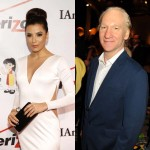 Eva Longoria and Bill Maher 
