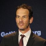 Peter Berg attends 'Got Your 6' Press Conference on May 10, 2012 in Los Angeles, Calif.