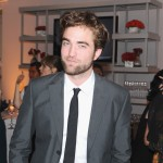 Robert Pattinson is all smiles at ELLE's 19th Annual Women In Hollywood Celebration at the Four Seasons Hotel in Beverly Hills, Calif. on October 15, 2012