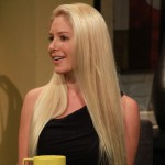 Heidi Montag visits Access Hollywood Live on October 18, 2012