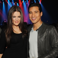 Khloe Kardashian and Mario Lopez attend the Kid Rock concert hosted by SWAGG at Hard Rock Hotel and Casino on January 7, 2010 in Las Vegas