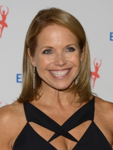 Katie Couric attends the 6Th Annual Exploring the Arts Gala hosted by Tony Bennett and Susan Benedetto at Cipriani 42nd Street, NYC, on October 4, 2012