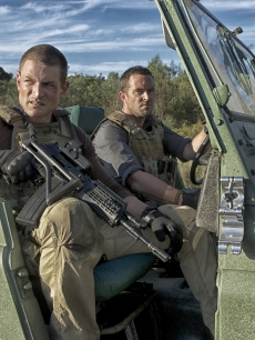 Philip Winchester and Sullivan Stapleton in Cinemax's 'Strike Back'
