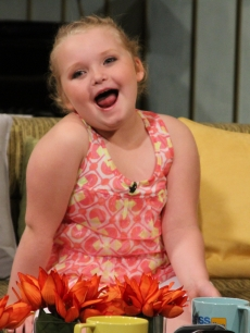 Alana Thompson — aka Honey Boo Boo — visits Access Hollywood Live on October 16, 2012