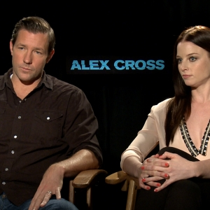 Ed Burns & Rachel Nichols Talk Alex Cross: What Did They Think Of Matthew Fox's Weight Loss?