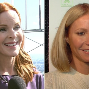 Marcia Cross Lights Up New York & Gwyneth Paltrow Talks Losing Her Baby Weight