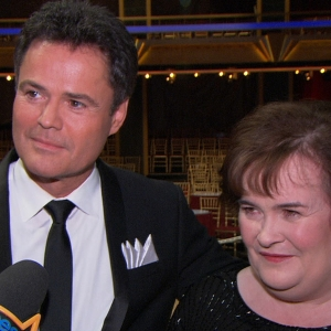 Donny Osmond & Susan Boyle Perform On Dancing With The Stars: All Stars