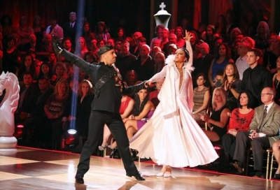 Mark Ballas and Bristol Palin perform during Week 3 of 'Dancing With The Stars: All-Stars,' Oct. 8, 2012