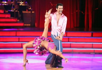 Melissa Rycroft and Tony Dovolani perform during Week 3 of &#8216;Dancing With The Stars: All-Stars,&#8217; Oct. 8, 2012