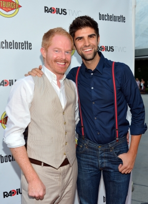 'Modern Family's Jesse Tyler Ferguson became engaged with his boyfriend of two years Justin Mikita in July 2012
