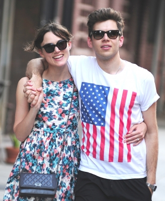 Keira Knightley confirmed her engagement to musician James Righton in May 2012