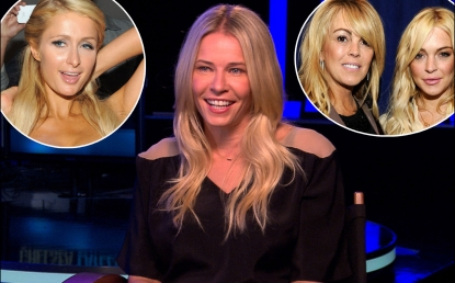 Chelsea Handler chats with Access Hollywood on October 12, 2012