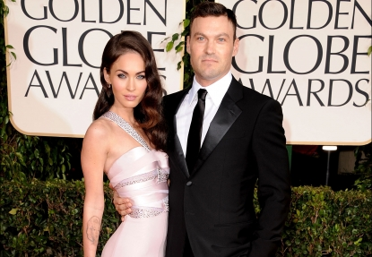 Megan Fox and Brian Austin Green attend the 68th Annual Golden Globe Awards in Beverly Hills, Calif. on January 16, 2011