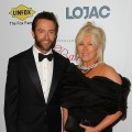 Hugh Jackman and wife Deborra-Lee Furness arrive at the Fight Cancer Foundation's 20th Annual Red Ball on October 20, 2012 in Melbourne, Australia