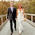 Charlie Bigelow and Elisa Donovan tied the knot in October, 2012