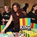 Mariska Hargitay lends a hand at a recent event sponsored by Joyful Hearts and KIND nutrition bars