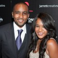 Bobbi Kristina Brown and Nick Gordon attend 'The Houstons: On Our Own' Series Premiere Party in New York City on October 22, 2012