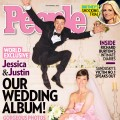 Justin Timberlake and Jessica Biel on the cover of People magazine&#8217;s November 5, 2012 issue