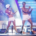 Peta Murgatroyd and Gilles Marini perform during Week 5 of 'Dancing with the Stars: All-Stars,' Oct. 22, 2012