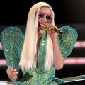 Lady Gaga onstage during the 52nd Annual GRAMMY Awards held at Staples Center in Los Angeles on January 31, 2010 