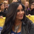 Nicole 'Snooki' Polizzi on Access Hollywood Live on October 25, 2012