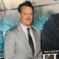 Tom Hanks arrives at the 'Cloud Atlas' premiere at in Hollywood, Calif. on October 24, 2012