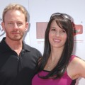 Ian Ziering and wife Erin attend the Red CARpet Event at the Riviera Country Club in Pacific Palisades, Calif., on September 10, 2011