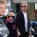 Nickelback frontman Chad Kroeger popped and Avril Lavigne in August 2012 / inset: Deryck Whibley