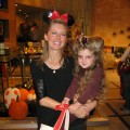 Ryan Patterson and daughter Harlow at the Access Hollywood Live Kids Halloween Fashion show