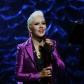 Christina Aguilera performs during NBCUniversal's Hurricane Sandy: Coming Together Relief Benefit in New York City on November 02, 2012