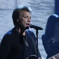 Jon Bon Jovi performs during NBCUniversal's Hurricane Sandy: Coming Together Relief Benefit in New York City on November 02, 2012