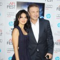 Hilaria Lynn Thomas and Alec Baldwin arrive at the 2012 AFI FEST - 'Rise Of The Guardians' premiere held at Grauman's Chinese Theatre in Hollywood, Calif. on November 4, 2012