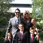 'Young and the Restless' star Joshua Morrow and his family