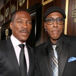 Eddie Murphy and Arsenio Hall arrive at Spike TV's 'Eddie Murphy: One Night Only' at the Saban Theatre in Beverly Hills, Calif., on November 3, 2012