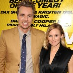 Dax Shepard and Kristen Bell arrives at the 'Hit & Run' Los Angeles Premiere in Los Angeles on August 14, 2012
