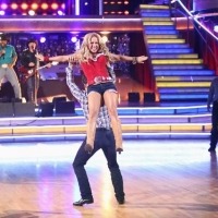 Sabrina Bryan and Louis van Amstel perform during Week 6 of 'Dancing with the Stars: All-Stars,' Oct. 29, 2012
