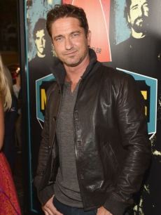 Gerard Butler arrives to the premiere of 20th Century Fox's 'Chasing Mavericks' in Los Angeles on October 18, 2012