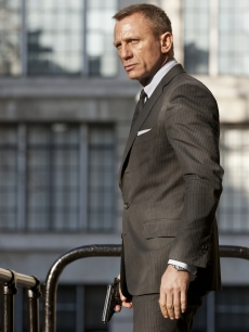 Daniel Craig is James Bond in &#8216;Skyfall&#8217;