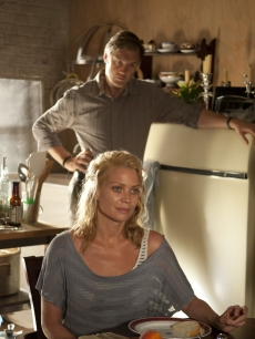 Andrea (Laurie Holden) with The Governor (David Morrissey) in Season 3, Episode 3 of AMC's 'The Walking Dead'