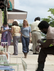 Andrea (Laurie Holden) in Season 3, Episode 3 of AMC's 'The Walking Dead'