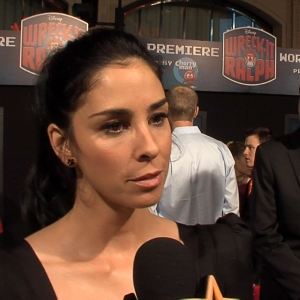 Sarah Silverman Gets Animated At The Wreck-It Ralph Hollywood Premiere