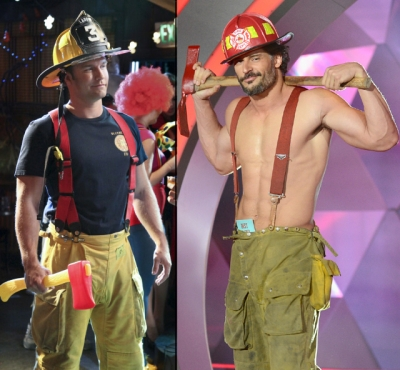 Scott Porter in 'Hart of Dixie,' Joe Manganiello in his Magic Mike gear at the MTV Movie Awards