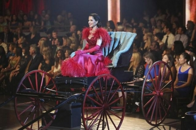 Kelly Monaco takes the stage during Week 6 of 'Dancing with the Stars: All-Stars,' Oct. 29, 2012